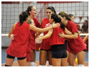 Womens Volleyball : Olympiakos 4-0 Markopoulo