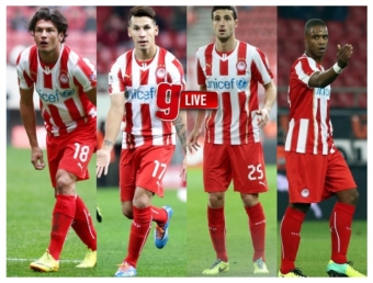 New players presented to the press - Roberto officially joins Olympiakos