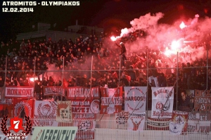 Greek cup - Atromitos 1-1 Olympiakos