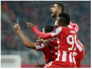 Olympiakos 2-0 Manchester United