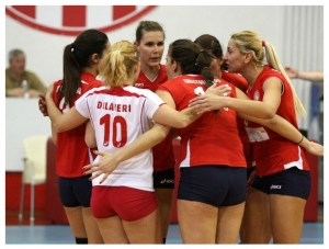 Olympiakos 3-0 Markopoulo (Womens Volleyball)