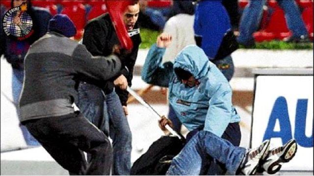 Panionios-Olympiakos 2005 Riots // Pyro-Greece